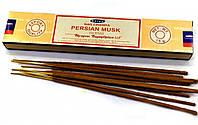 Ароматические палочки индийские натуральные Nag Champa Persian Musk - Персидский Муск (15g) Satya