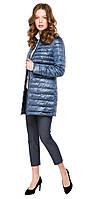 Куртка осенне-весенняя женская цвет ниагара модель 41323