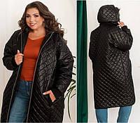 Жіноча куртка стьобаний, фото 1