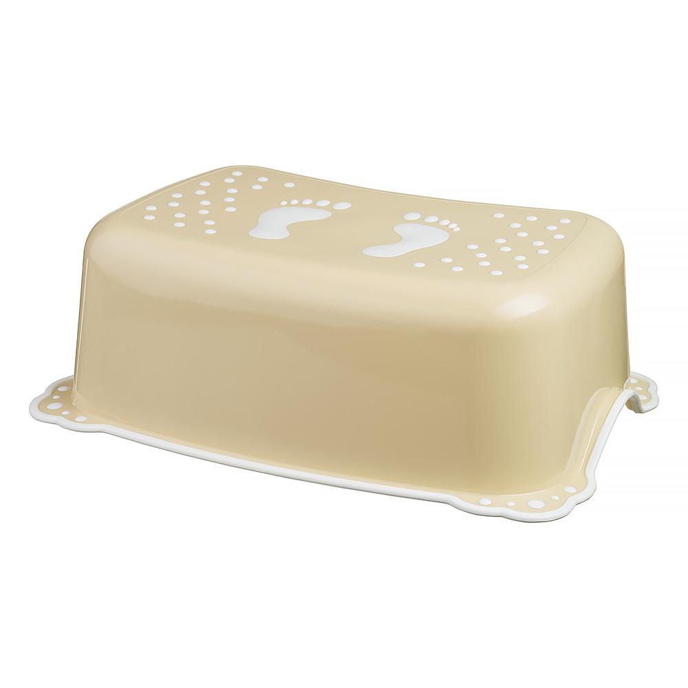 Подставка Maltex Classic 7309 нескользящая  beige with white rubbers