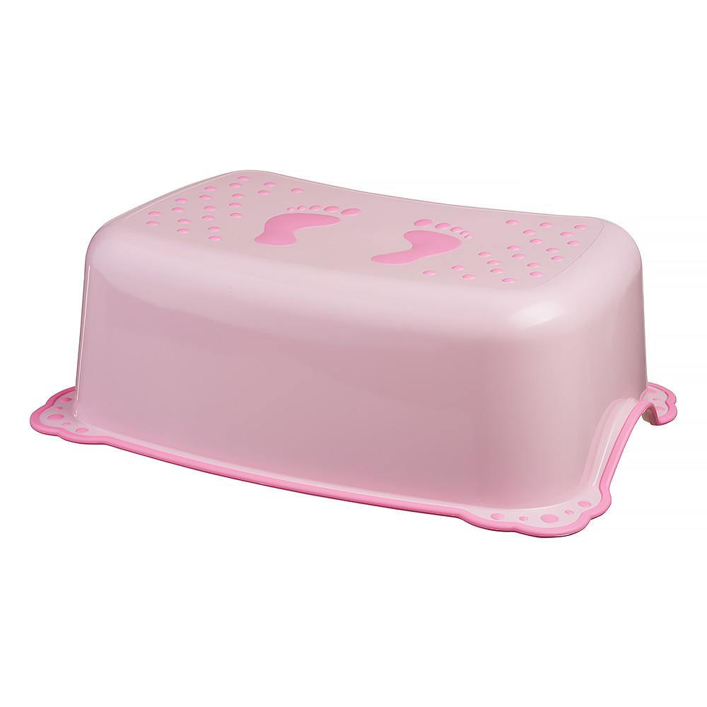 Подставка Maltex Classic 7309 нескользящая  pink with dark pink rubbers