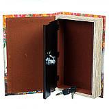 Книга сейф Девушка в цветах 26 см, фото 2