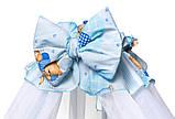 Детская постель Qvatro Gold RG-08 рисунок  голубая (мишки), фото 3
