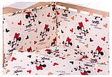 Детская постель Qvatro Gold RG-08 рисунок  бежевый (микки-маус), фото 2