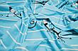 Простирадло на гумці Вензелі кремові 160х190х20, фото 3