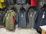 Стильна подовжена зимова куртка Solo SV-21, фото 10