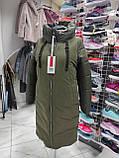 Стильна подовжена зимова куртка Solo SV-21, фото 9