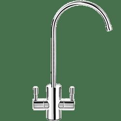 Картинка двойной кран чистой воды