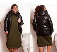 Коротка куртка жіноча, фото 1