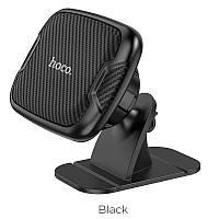 Магнитный автомобильный держатель для смартфона на панель автомобиля Hoco хороший магнит