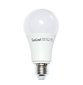 Светодиодная лампа 10Вт E27 A60 SUNLED