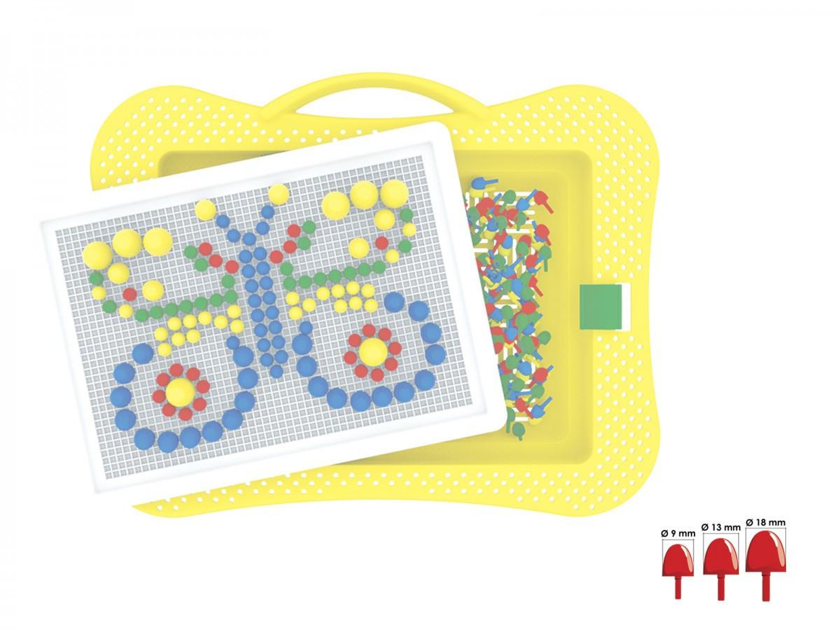 Іграшка ТехноК  Мозаїка 7 в коробці 2100
