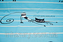 Простынь на резинке Коты 140х200х20, фото 3