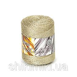 Фантазийный шнур Maccaroni Luna, цвет Светлое золото