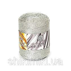 Фантазийный шнур Maccaroni Luna, цвет Серебро