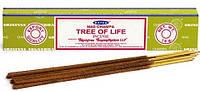 Благовония, палочки натуральные, индийские Nag Champa Tree of Life (15gm) Satya