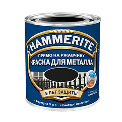 Hammerite с Глянцевым эффектом, Серебристая 0.7 л