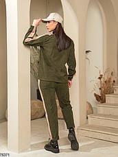 Спортивний костюм жіночий з микровельвета (3 кольори), фото 2