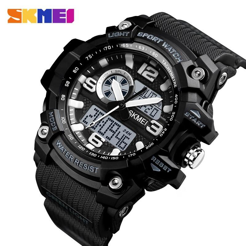 Мужские спортивные часы Skmei 1436 черные