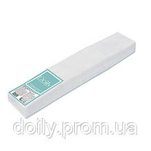 Воротничок-салфетка для парикмахеров Doily® 7х40 см (100 шт / пач) с спанлейс Текстура: гладкая, сетка