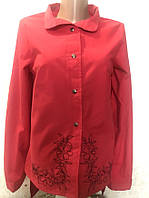 Молодежная блуза-рубашка