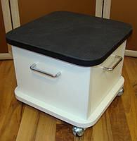 Подставка для педикюрной ванночки на колесах