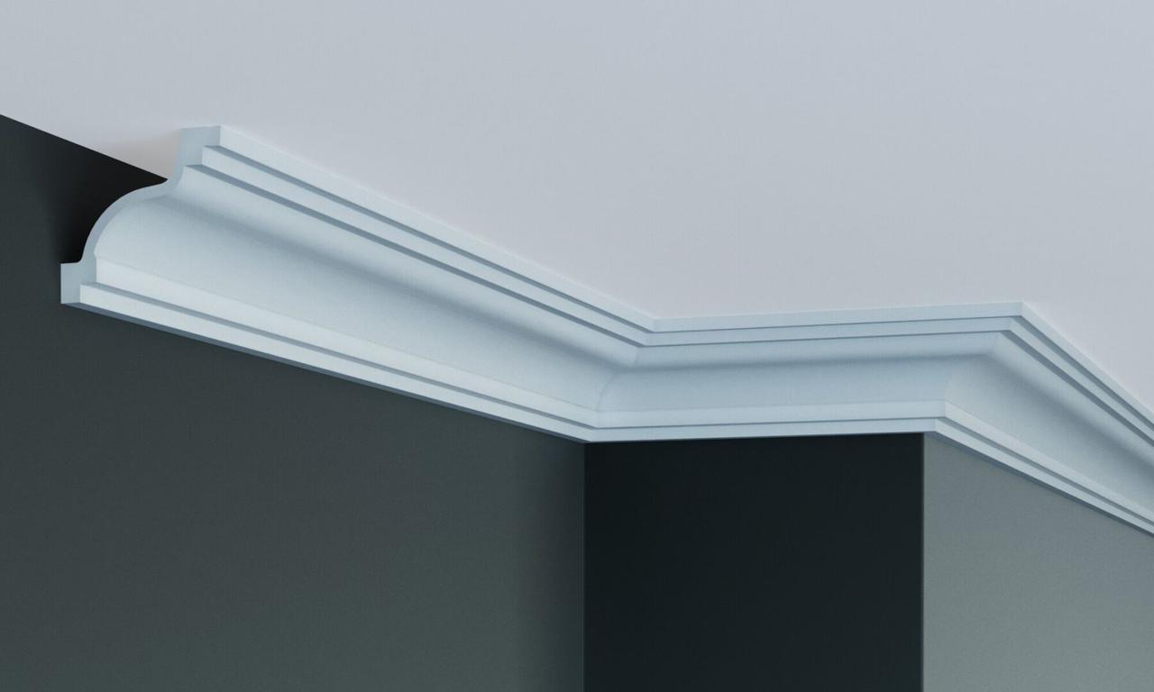 Карниз полиуретановый гладкий Gaudi Decor P 208