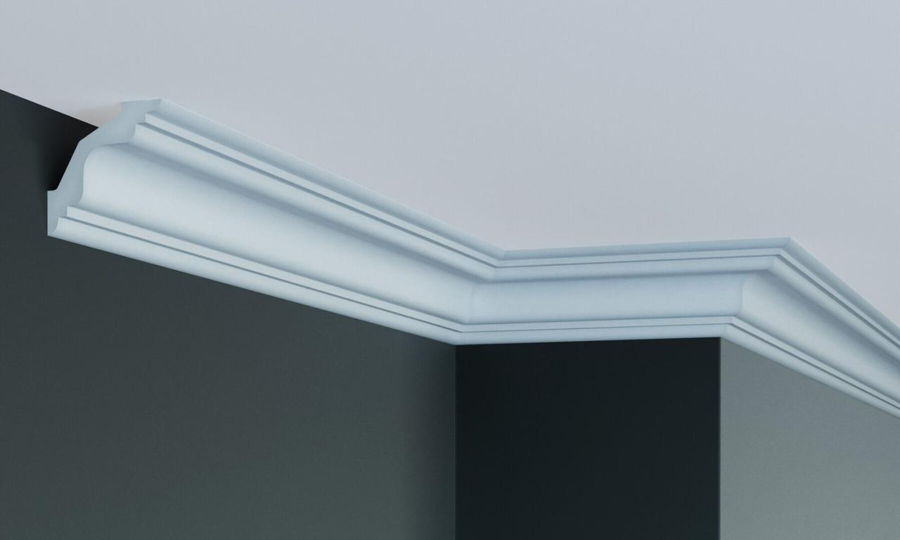 Карниз полиуретановый гладкий Gaudi Decor P 214