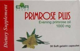 Капсулы с маслом примулы вечерней /Primrose Plus/ 1000 mg Производство: Египет. Витаминный комплекс женщинам