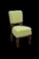 Офисный мягкий стул для салона, кафе и ресторана. Каркас из массива дерева. МГ-033е