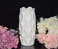 Ваза для цветов керамическая 20 см разные цвета