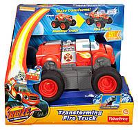 Интерактивная пожарная машина трансормер Вспыш ,Вспыш и чудо машинки Fisher-price, фото 1