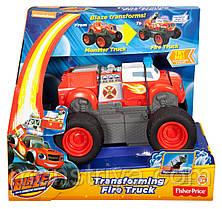 Интерактивная пожарная машина трансормер Вспыш ,Вспыш и чудо машинки Fisher-price