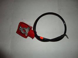 Кабель плюс АКБ посилений (клема:латунь штампована, перетин 16 мм. кв) ЗАЗ 1102 (15804)