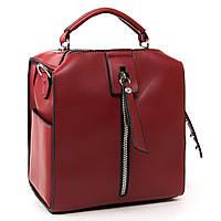 Женская сумка-рюкзак 6510 red Купить клатчи женские оптом недорого в Украине, фото 1