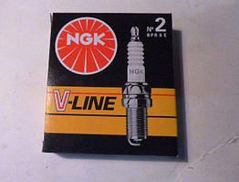 Свічка запалювання ВАЗ 2101-08, ЗАЗ 1102, 1103, 1105, Daewoo Lanos (NG VL02)(к-кт 4шт) *NGK