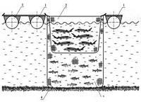 Секционные или модульные садки для выращивания рыбы