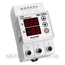 Реле напряжения с контролем тока - VA-32A