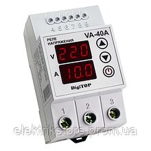 Реле напряжения с контролем тока - VA-40A