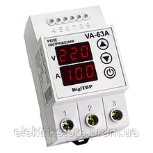 Реле напряжения с контролем тока - VA-63A