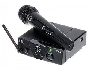 AKG WMS40 Mini Vocal Set Радіосистема UHF 662,300 Mhz, один ручний мікрофон