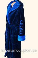 Мужской длинный махровый халат,цвета в ассортименте (46-64)
