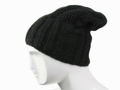 Шапка зимняя черная