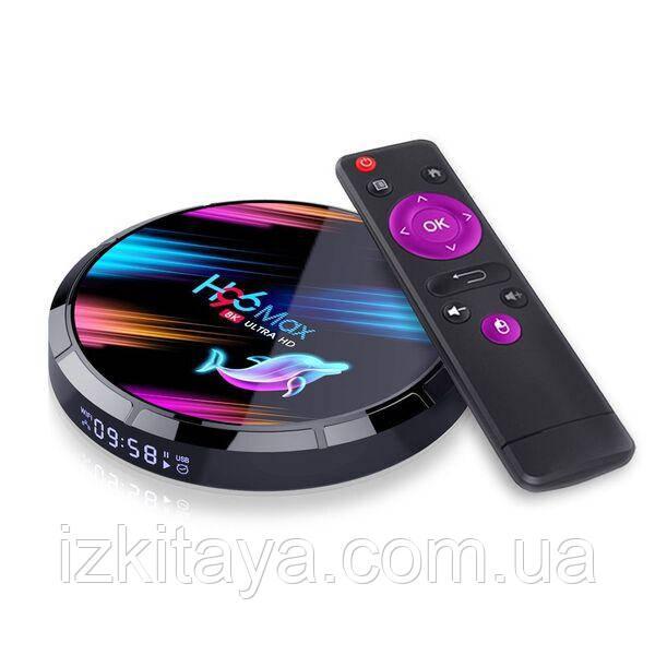 Смарт ТВ приставка H96 MAX X3 4/128Gb Smart TV + 3 місяці Sweet TV у подарунок
