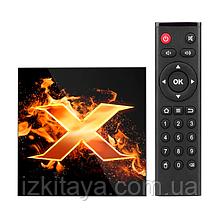Смарт ТВ приставка VONTAR X1 2/16Gb Smart TV (смарт ТВ приставка на адроиде)