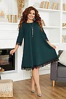 Платье женское , красивое нарядное платье креп дайвинг , красивое вечернее платье