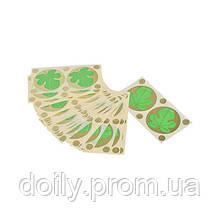 Стикини для солярия Doily (100шт\пач) с рисунком Fig Leaf (4823098703051)