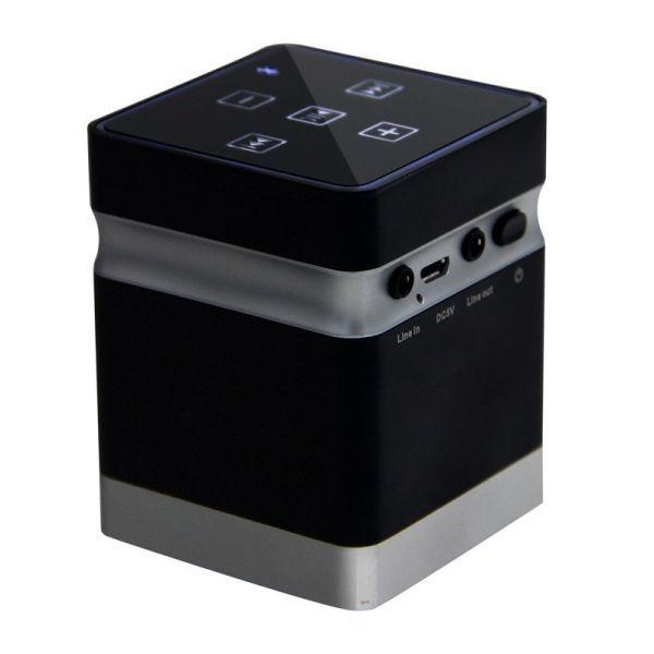 Вибрационная bluetooth колонка Adin BT-BOX 26 Вт Черный (100163)