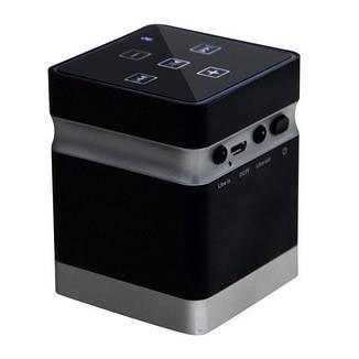 Вибрационная bluetooth колонка Adin BT-BOX 26 Вт Черный (100163), фото 2