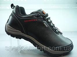 Полуботинки  Merrell черные кожаные 399